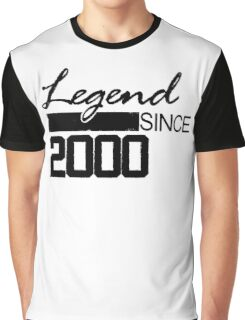 legend since 2000 Graphic T-Shirt