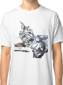 CAT BY THE WINDOW Classic T-Shirt