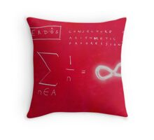 Conjecture On Arithmetic Progression With Paul Erdos Throw Pillow
