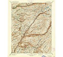 USGS TOPO Map California CA Big Trees 299224 1901 125000 geo Photographic Print