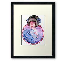 Aries Zodiac Framed Print
