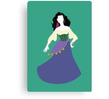Disney - Esmeralda from The Hunchback of Notre-Dame Canvas Print