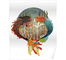 Lava and Sea Poster