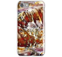 Foamy  Frothy Shapes from a Wave iPhone Case/Skin
