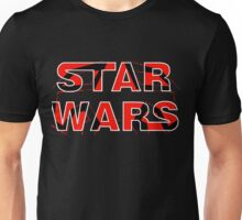 Star Wars with Darth Maul pattern Unisex T-Shirt