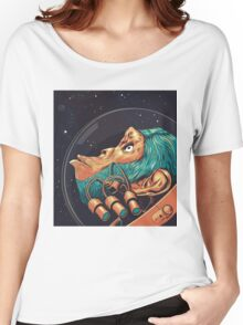 Ham the Chimp - Space ape Women's Relaxed Fit T-Shirt