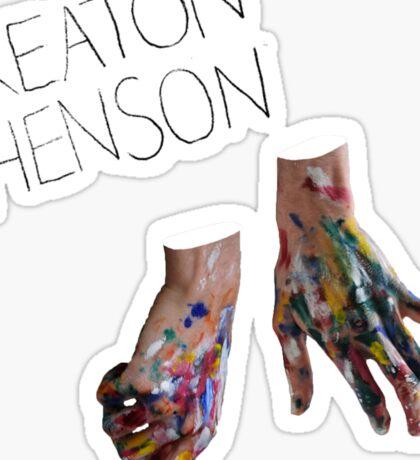 Keaton Henson - Hands Artwork Sticker