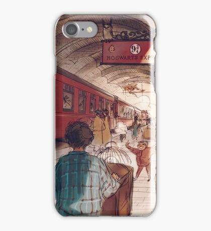 Platform 9¾ iPhone Case/Skin