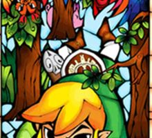 LoZ Boomerang Stained Glass Sticker