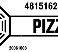 Dharma Pizza Sticker