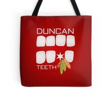 Duncan Teeth Tote Bag
