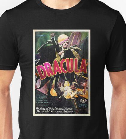 Vampire Poster Unisex T-Shirt