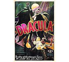 Vampire Poster Photographic Print