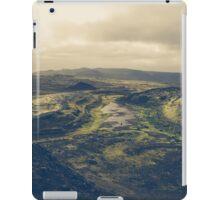 Across the lava plains iPad Case/Skin