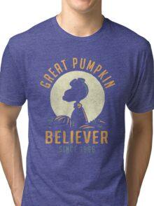 The Great Pumpkin Believer Tri-blend T-Shirt
