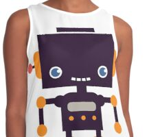 Hipster Robot Contrast Tank