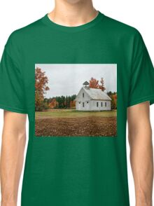 The Old Schoolhouse on Maple Ridge Classic T-Shirt