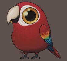 Cute Fat Macaw One Piece - Short Sleeve