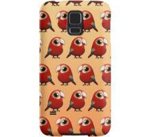 Cute Fat Macaw Samsung Galaxy Case/Skin