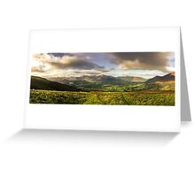 The view from Latrigg Greeting Card