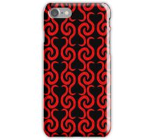 Red pattern  iPhone Case/Skin