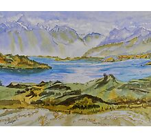 New Zealand's Southern Alps Photographic Print