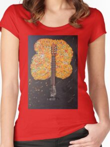 Vivaldi III - Gitarre Women's Fitted Scoop T-Shirt