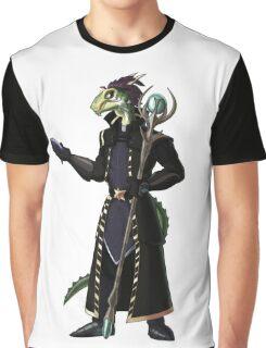 Skyrim Thalmor Argonian Graphic T-Shirt