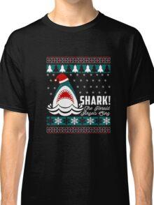 SHARK! THE ANGEL SING T-Shirt merry funny christmas Classic T-Shirt