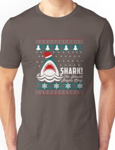 SHARK! THE ANGEL SING T-Shirt merry funny christmas Unisex T-Shirt