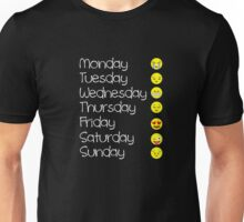 Emoji T Shirt Love Your Emoticon Shirt 7 Days - HQ Design Unisex T-Shirt