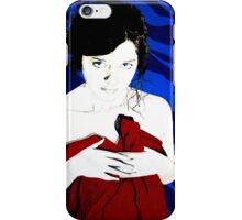 Lois Lane with Cape iPhone Case/Skin
