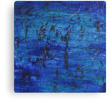 Blue Series 1 Canvas Print
