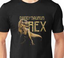 Men's Daddysaurus Rex Funny Dinosaur Dino Gift for Dad T-Shirt Unisex T-Shirt