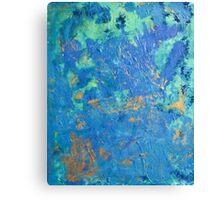 Blue Series 3 Canvas Print