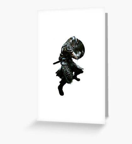 Skyrim Dragonborn Greeting Card