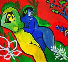 Goddesses by Ming  Myaskovsky