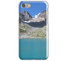 Beautiful nature mountains lake iPhone Case/Skin