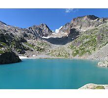 Beautiful nature mountains lake Photographic Print