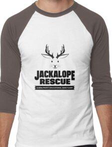 Jackalope Rescue Men's Baseball ¾ T-Shirt