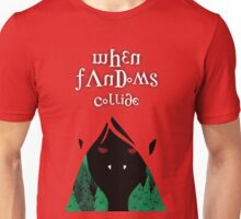 When Fandoms Collide Unisex T-Shirt