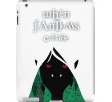 When Fandoms Collide iPad Case/Skin