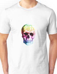 Vampire skull in colour Unisex T-Shirt