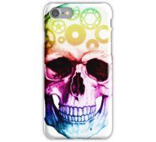 Vampire skull in colour iPhone Case/Skin