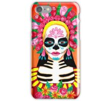 Sugar Skull Girl - La Calavera Catrina iPhone Case/Skin