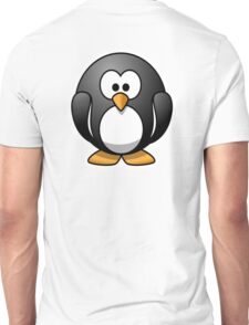 Penguin, Cartoon, Unisex T-Shirt