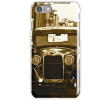 Antique Car Sepia iPhone Case/Skin