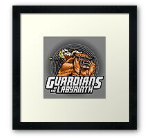 Guardians of the Labyrinth Framed Print