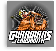 Guardians of the Labyrinth Canvas Print