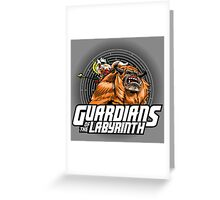 Guardians of the Labyrinth Greeting Card